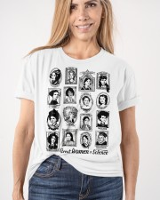 Great Women of Science Classic T-Shirt apparel-classic-tshirt-lifestyle-front-101