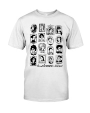 Great Women of Science Classic T-Shirt front