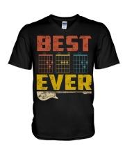 Guitar Dad V-Neck T-Shirt tile