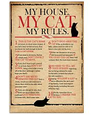 Cat Lover Rules 11x17 Poster front