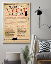 Cat Lover Rules 11x17 Poster lifestyle-poster-1