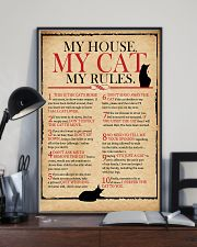 Cat Lover Rules 11x17 Poster lifestyle-poster-2