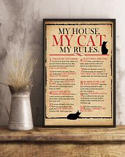 Cat Lover Rules 11x17 Poster lifestyle-poster-3
