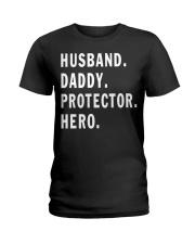 Husband Daddy Protector Hero Ladies T-Shirt tile