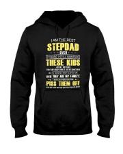 I am the best Step Dad Hooded Sweatshirt tile