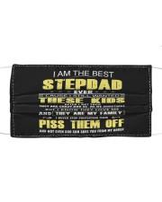 I am the best Step Dad Mask tile