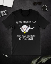 Happy Father's Day Classic T-Shirt lifestyle-mens-crewneck-front-16
