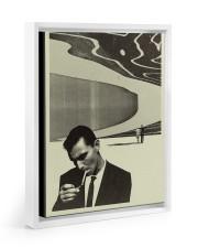 LIMITED EDITION Floating Framed Canvas Prints White tile