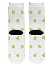Tree Crew Length Socks back
