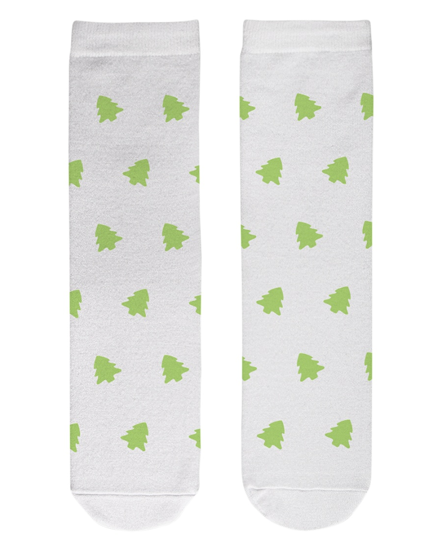 Tree Crew Length Socks