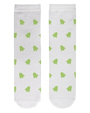 Tree Crew Length Socks front