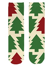 Christmas Tree Socks  Crew Length Socks front