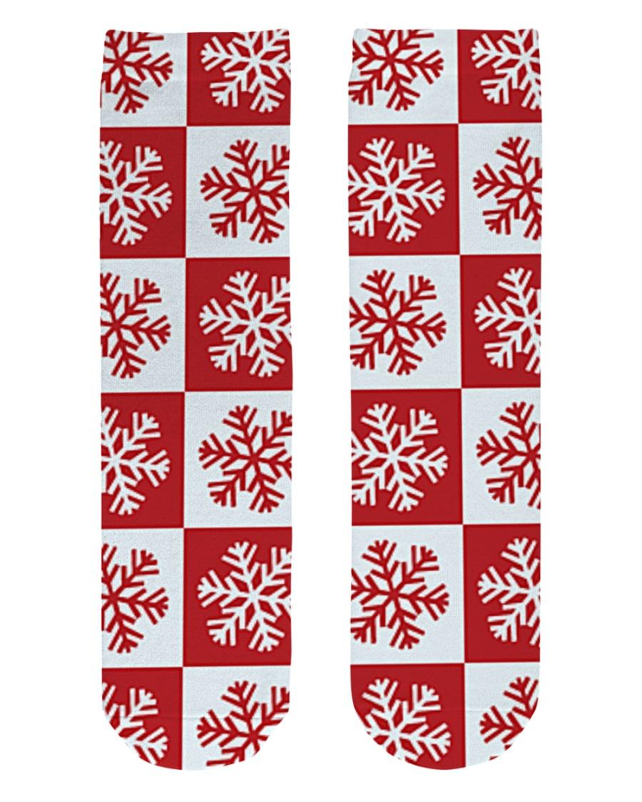 Snowflakes Crew Length Socks