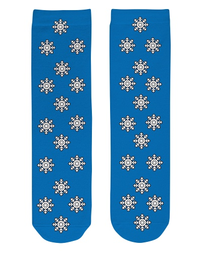 Snow flakes Socks