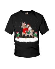 Shih Tzu Dog Christmas gifts Youth T-Shirt thumbnail