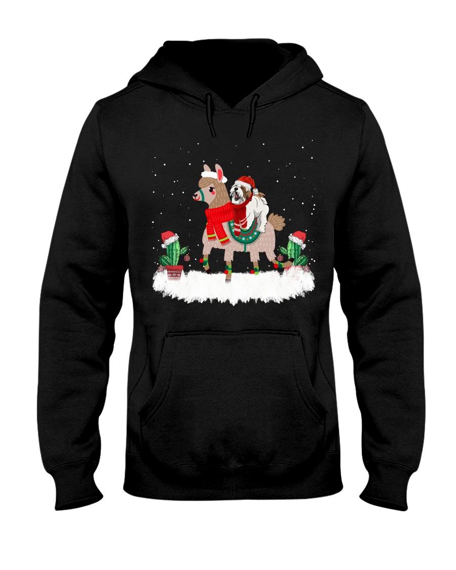 Shih Tzu Dog Christmas gifts Hooded Sweatshirt