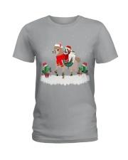 Shih Tzu Dog Christmas gifts Ladies T-Shirt thumbnail
