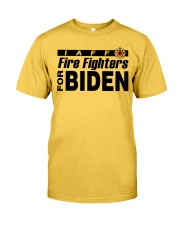fire fighters for biden t shirt Classic T-Shirt thumbnail