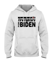 fire fighters for biden t shirt Hooded Sweatshirt thumbnail