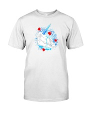 chicago unicorn skull shirt Classic T-Shirt tile