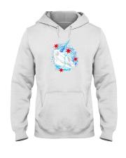 chicago unicorn skull shirt Hooded Sweatshirt thumbnail
