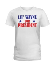 lil wayne for president shirt Ladies T-Shirt thumbnail