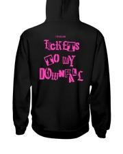 tickets to my downfall merchandise Hooded Sweatshirt back