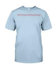 blue tpwk shirt Classic T-Shirt front