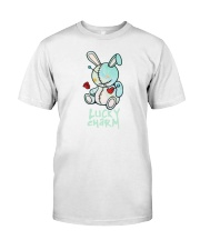lucky charm shirt with bear Classic T-Shirt tile