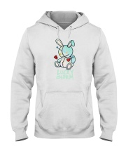 lucky charm shirt with bear Hooded Sweatshirt thumbnail