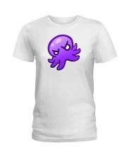 baby kraken purple shirt Ladies T-Shirt thumbnail