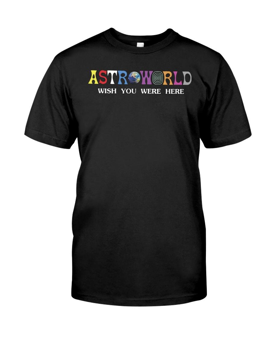 astroworld t shirt Classic T-Shirt