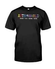 astroworld t shirt Classic T-Shirt front