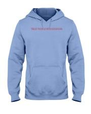 blue tpwk hoodie Hooded Sweatshirt front