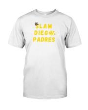 slam diego padres shirt Classic T-Shirt tile