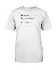 kanye west tweet t shirt Classic T-Shirt front
