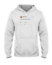 kanye west tweet t shirt Hooded Sweatshirt thumbnail