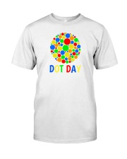 international dot day shirt ideas Classic T-Shirt tile