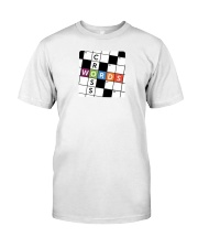 make a colorful t shirt crossword Classic T-Shirt front