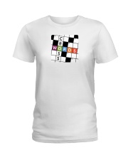 make a colorful t shirt crossword Ladies T-Shirt thumbnail