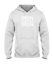 iron sharpens iron shirt Hooded Sweatshirt thumbnail