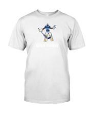 tre white goalie academy shirt Classic T-Shirt tile