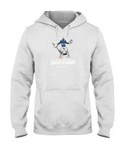tre white goalie academy shirt Hooded Sweatshirt thumbnail