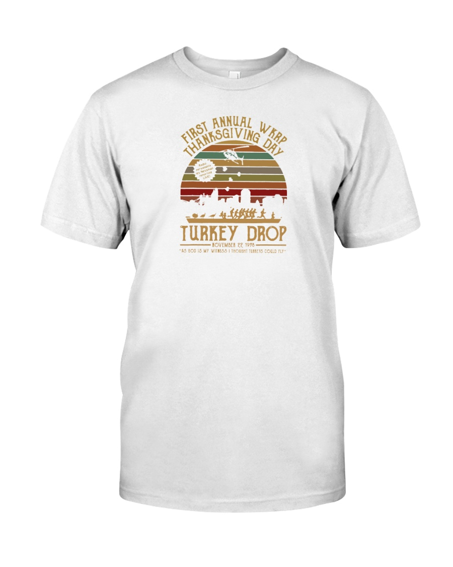 wkrp turkey drop shirt Classic T-Shirt