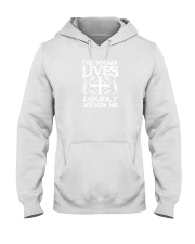 the dogma lives loudly within you shirt Hooded Sweatshirt thumbnail