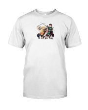 uniqlo demon slayer shirt Classic T-Shirt front