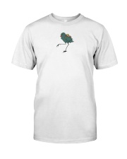 travel bird shirt Classic T-Shirt front