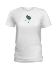 travel bird shirt Ladies T-Shirt thumbnail