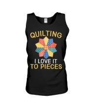 Sewing Quilting I Love It To Pieces T-Sh Unisex Tank thumbnail