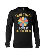 Sewing Quilting I Love It To Pieces T-Sh Long Sleeve Tee thumbnail